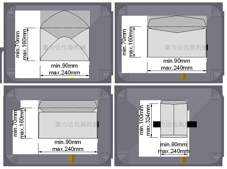 西式信封机【信封纸袋糊合机|信封糊合机|信封纸袋机图片